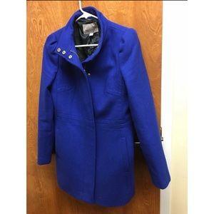 Royal Blue Banana Republic Coat - Size S